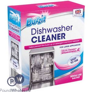 DUZZIT DISHWASHER CLEANER 1 PACK