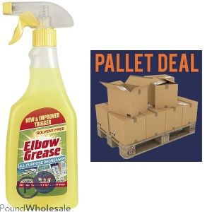 1200 X ELBOW GREASE ORIGINAL 500ML PALLET DEAL