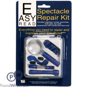 EASY READ SPECTACLE REPAIR KIT