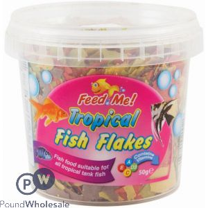 TROPICAL FISH FLAKES 30G