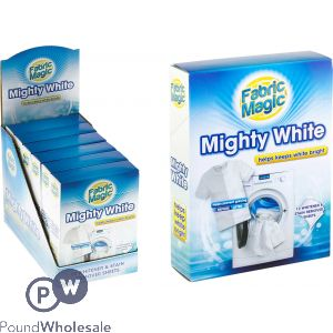 FABRIC MAGIC MIGHTY WHITE WHITE GUARD 12 PACK CDU