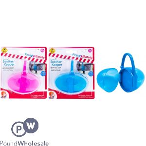 2 SECTION SOOTHER KEEPER 2 ASSORTED