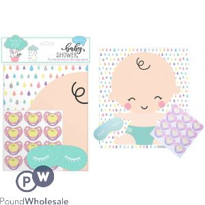 BABY SHOWER PIN DUMMY ON BABY GAME
