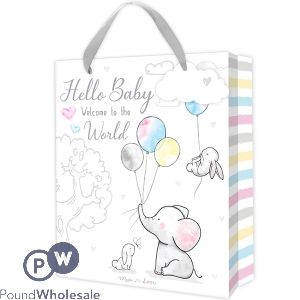 HUGS & KISSES BABY GIFT BAG