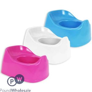 FIRST STEPS BABY TRAINING PLASTIC POTTY