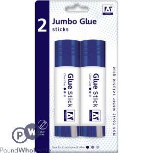 JUMBO GLUE STICKS 2-PACK