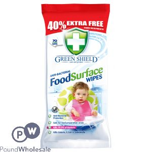 GREEN SHIELD FOOD SURFACE WIPES