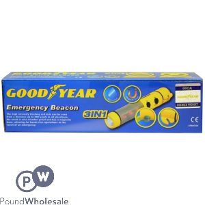 GOODYEAR 3 IN 1 EMERGENCY BEACON