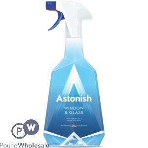 ASTONISH WINDOW & GLASS SPRAY 750ML