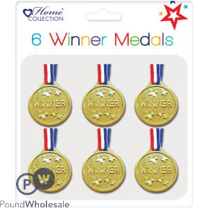 PARTY 6 WINNERS MEDALS