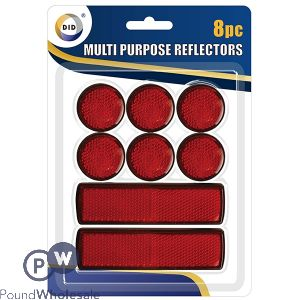 DID MULTI PURPOSE REFLECTORS 12PC