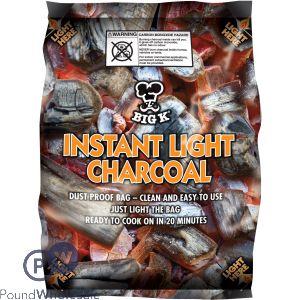 BIG K INSTANT LIGHT CHARCOAL 1KG