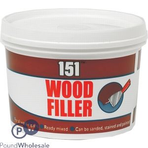 151 WOOD FILLER TUB 600G
