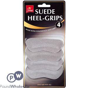 JUMP SUEDE HEEL-GRIPS 4 PACK