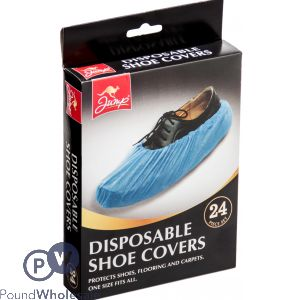 JUMP DISPOSABLE SHOE COVER 24 PACK
