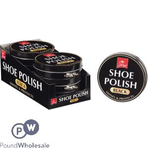 BLACK SHOE POLISH TIN