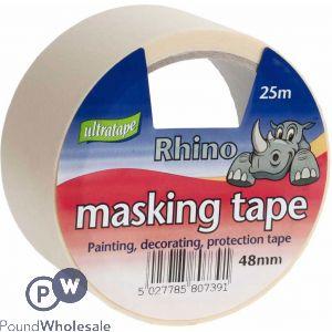 RHINO MASKING TAPE 48MM X 25M