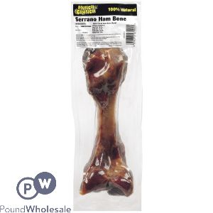 MUNCH & CRUNCH SERRANO HAM BONE LARGE