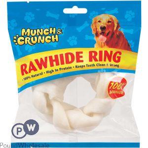 MUNCH & CRUNCH RAWHIDE RING