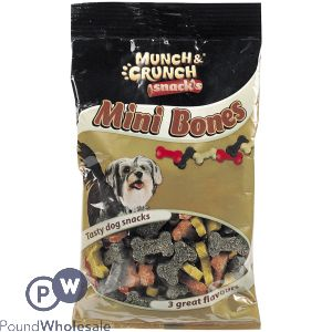 MUNCH & CRUNCH MINI BONES MIXED