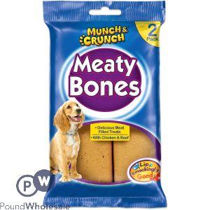 MEATY BONE 2PK 140G