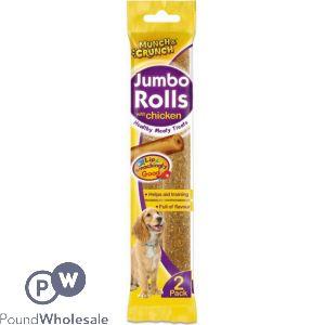 2PK JUMBO ROLLS WITH CHICKEN