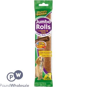 2PK JUMBO ROLLS WITH LAMB & RICE