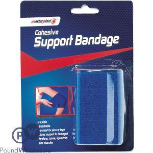 MASTERPLAST COHESIVE SUPPORT BANDAGE 7CM X 4M