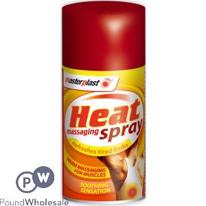 MASTERPLAST HEAT MASSAGING SPRAY