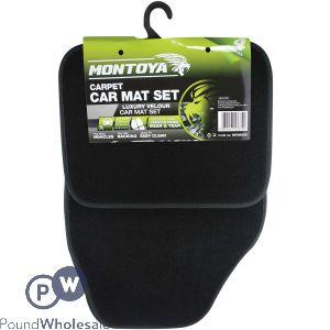 MONTOYA CARPET CAR MAT SET