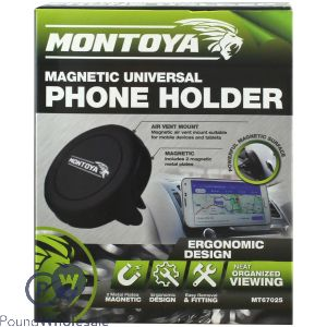 MONTOYA MAGNETIC PHONE HOLDER