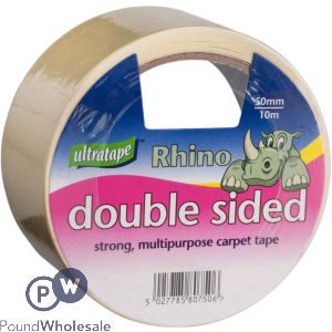 ULTRATAPE RHINO CARPET TAPE STRONG MULTIPURPOSE DOUBLE SIDED