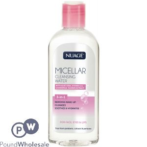 NUAGE MICELLAR CLEANSING WATER