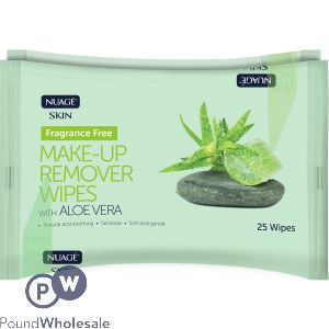 NUAGE MAKE-UP REMOVER WIPES