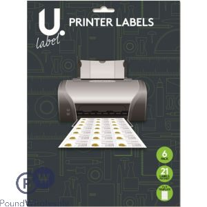PRINTER LABELS 7 X 3 TEMPLATE