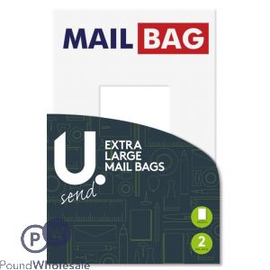 EXTRA LARGE MAIL BAGS PACK OF 2 50 X 65CM
