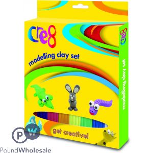 MODELLING CLAY SET INCLUDES CUTTER AND ROLLER