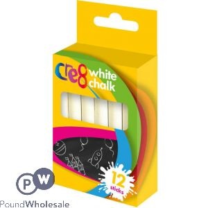 CRE8 WHITE CHALK 12 PACK