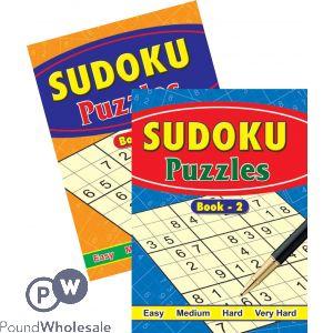 SUDOKU PUZZLES (NO VAT)