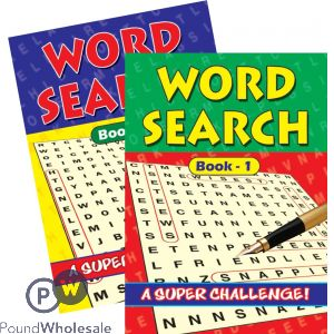 WORD SEARCH (NO VAT)