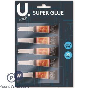 5PK 3G SUPER GLUE