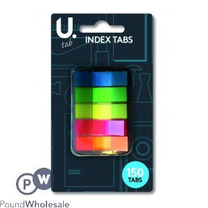 INDEX TABS ASSORTED COLOURS