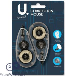 CORRECTION MOUSE 2 PACK