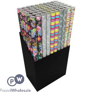 3M GENERIC GIFTWRAP 5 ASSORTED DESIGNS