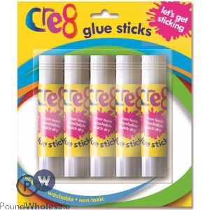 CRE8 GLUE STICKS 5 PACK