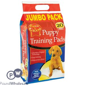 PRIDE & GROOM PUPPY TRAINING PADS