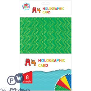 KIDS CREATE A4 HOLOGRAPHIC CARD