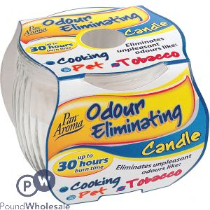 ODOUR ELIMINATING CANDLE