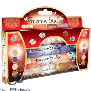 INCENSE STICKS 4 PACK GIFT PACK
