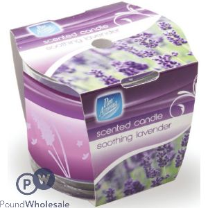 PAN AROMA SCENTED CANDLE SOOTHING LAVENDER